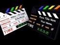 FILM CLAPPERBOARD – APPLE MOTION – $20