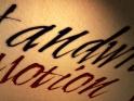 HANDWRITTEN ART TITLES – MOTION – $20
