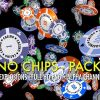 CASINO CHIPS – FALLING, FLYING, EXPLODING – PACK OF 5 – $15