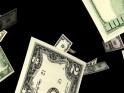 FLYING MONEY BILLS – DOLLARS – LOOP – $10