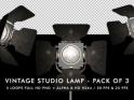 VINTAGE STUDIO LAMP – PACK OF 3 – $15