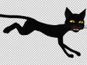 BLACK CAT – RUNNING CYCLE – LOOP – $25