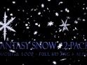 FANTASY SNOW – PACK OF 2 – $12