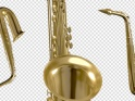 SAXOPHONE – FLYING OVER SCREEN – PACK OF 3 – $15