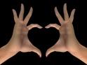 HEART GESTURE – II – $12