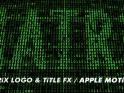 MATRIX FX – II – APPLE MOTION 5 – $20