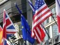 INTERNATIONAL FLAGS – EUROPEAN HOTEL – $12