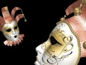ROMANTIC MASK – CROWNS AND BELLS – PACK OF 2 – $14