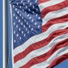USA FLAG AT STRONG WIND – $8