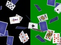 POKER CARDS – FLYING AROUND – HORIZONTAL LOOP – I – 4K – $25