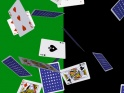 POKER CARDS – FLYING AROUND – VERTICAL LOOP – I – 4K – $25