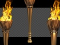 FIRE TORCH LOOP – CLASSIC GOLD – PACK OF 2 – $14