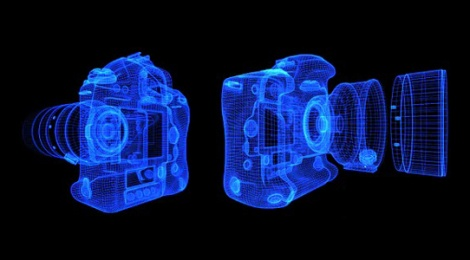 DIGITAL CAMERA – 3D FORMATION – $12